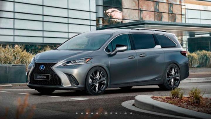 З'явилися зображення нового мінівена Lexus (фото)