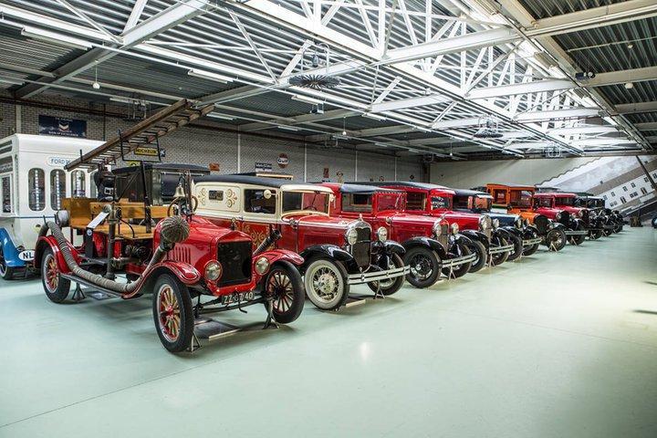 В Голландии продали самую большую коллекцию раритетных автомобилей Ford