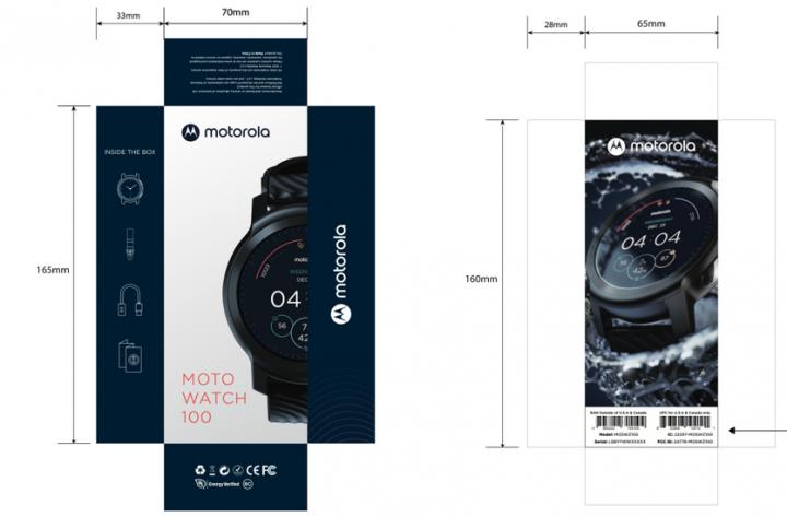 Motorola выпустит две модели умных часов.