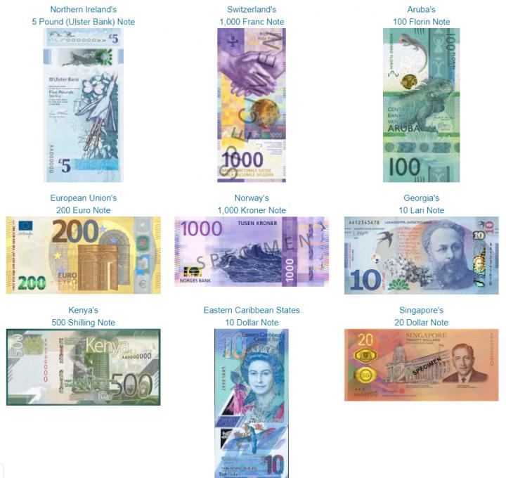 1000 гривен номинировали на лучшую банкноту года: фото соперников
